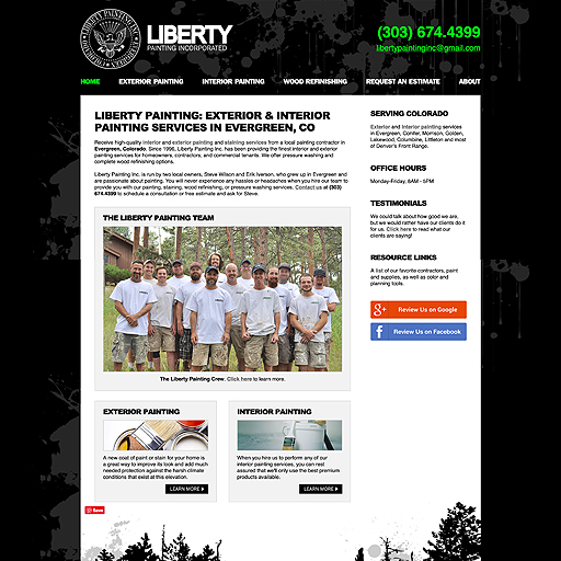 Evergreen Web Design