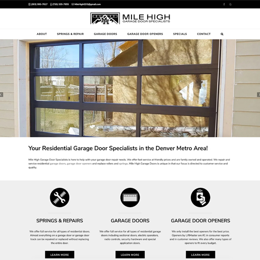 Mile High Garage Door Specialists