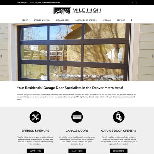 Mile High Garage Door Specialists