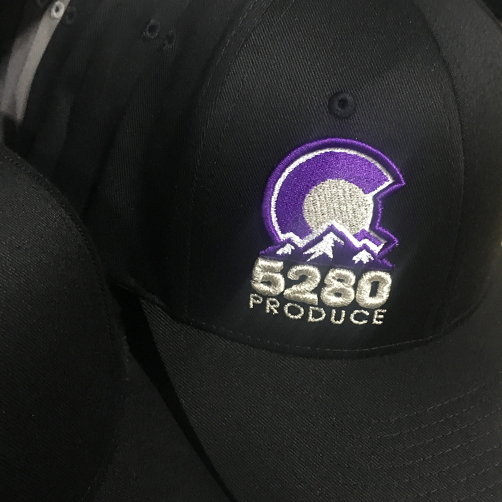 5280 Produce Rockies Hats