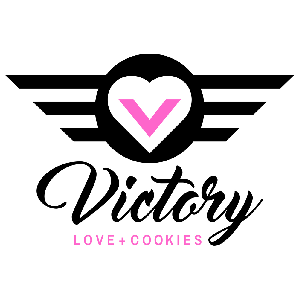 Victory Love + Cookies Logo