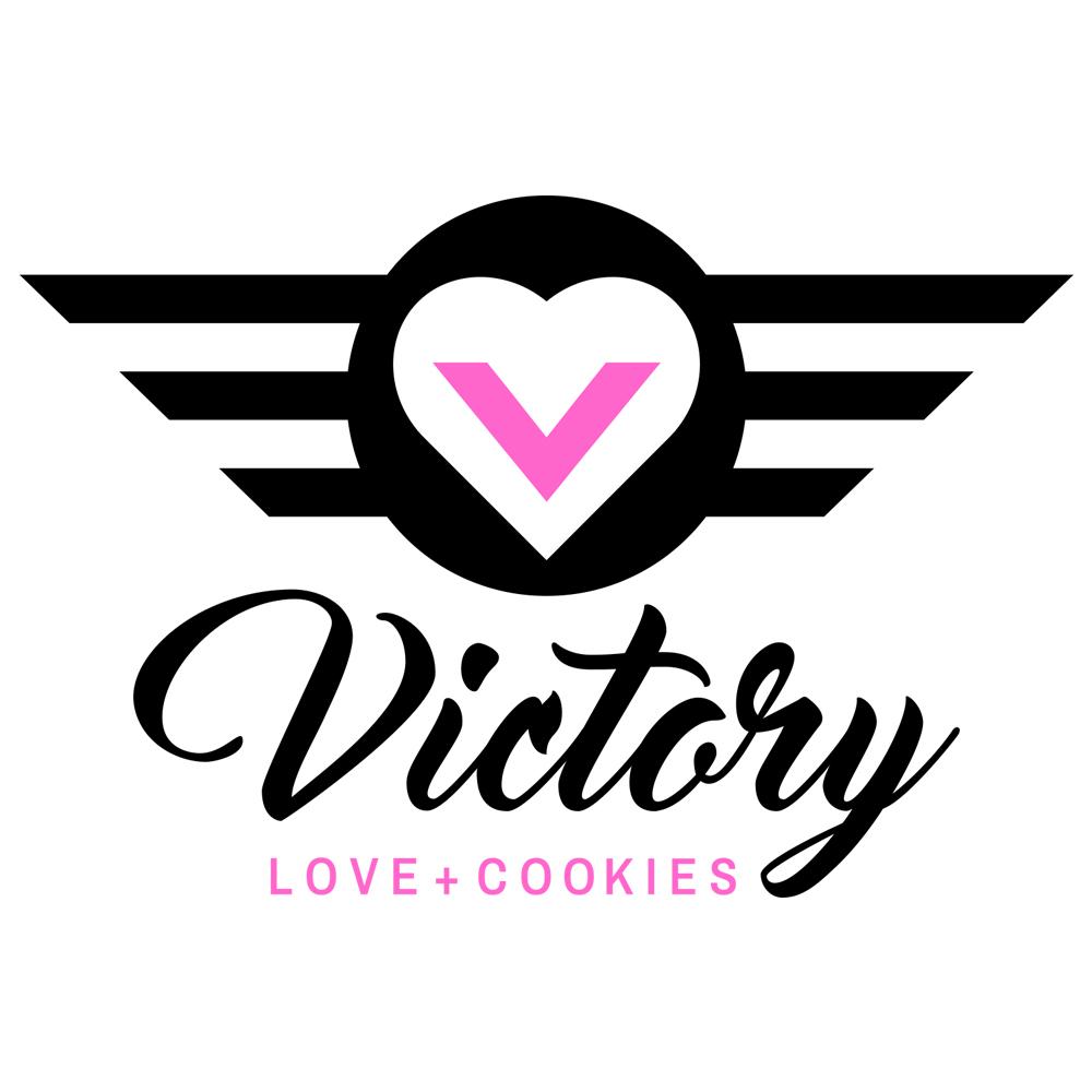 Victory Love + Cookies Logo