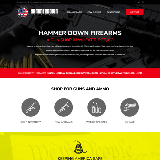 Hammer Down Firearms